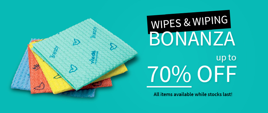 Wipes and Wiping Bonanza
