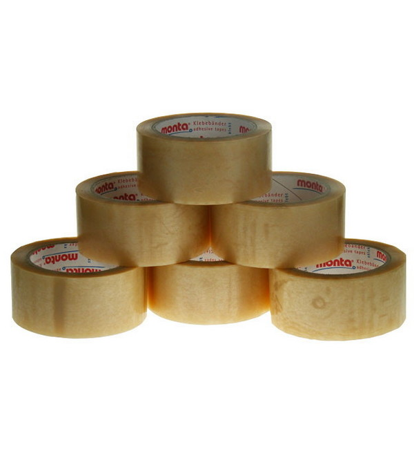 Premium Clear Packing Vinyl Tape, 48mm x 66m
